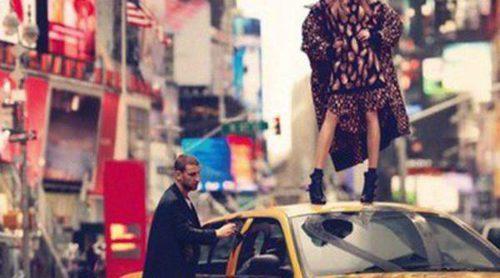 Cara Delevingne repite como imagen de DKNY para este invierno 2013/2014