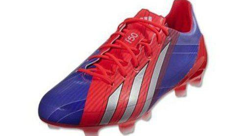 Leo Messi, a toda velocidad con las nuevas zapatillas de Adidas