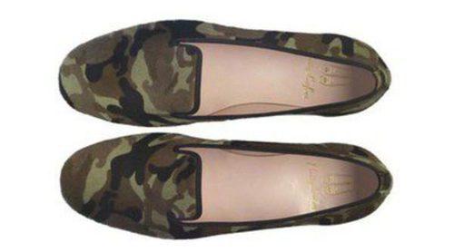 Pretty Ballerinas se pasa a la moda del estampado camuflaje en su nueva línea de slippers