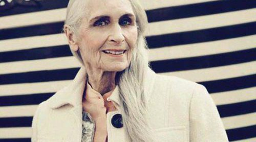 Daphne Selfe, la modelo más vieja del mundo, posa para la nueva campaña de TK Maxx