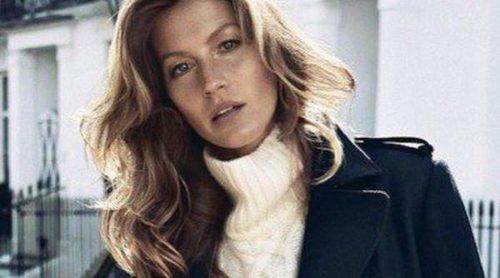 Primeras imágenes de Gisele Bündchen como imagen del otoño/invierno 2013 de H&M