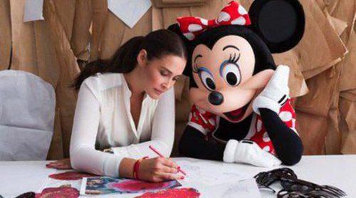 Vicky Martin Berrocal recibe la visita de Minnie Mouse en su taller de Sevilla