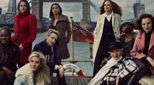Las mujeres más influyentes de Inglaterra posan para la campaña de Marks & Spencers