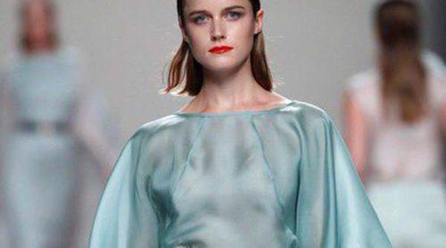 Duyos nos presenta a sus exquisitas 'veraneantes' en el desfile primavera/verano 2014 de Madrid Fashion Week