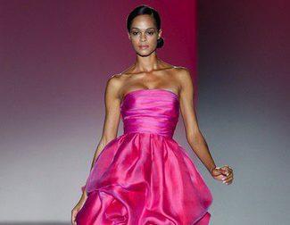 Glamour hollywoodiense en el desfile primavera/verano 2014 de Hannibal Laguna en la Madrid Fashion Week