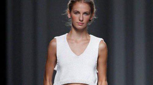 Sita Murt apuesta por una primavera/verano 2014 dulce y coqueta en blanco en Madrid Fashion Week