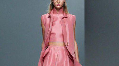 Martín Lamothe se inspira en el agua y Juan Vidal en la belleza asiática para la primavera/verano 2014 en Madrid Fashion Week