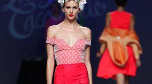 Lady Cacahuete apuesta por el estilo vintage y Andrea de la Roche por la transformación estética en sus desfiles EGO en Madrid Fashion Week