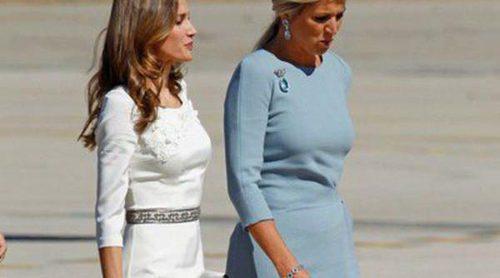 Duelo de estilo entre la Reina Máxima de Holanda y la Princesa Letizia