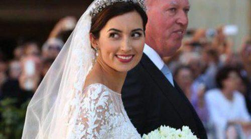 El vestido de novia de Claire Lademacher: una exquisita obra de arte diseñada por Elie Saab