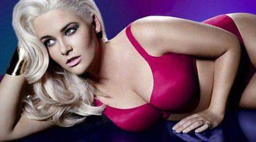 La ganadora de America's Next Top Model presume de curvas en una campaña de lencería