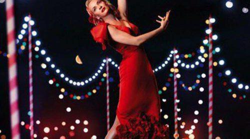 Vicky Martin Berrocal viste de flamenca a Uma Thurman
