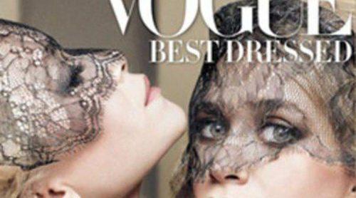 Las gemelas Olsen, portada de la edición Mejor vestidas de Vogue 2011