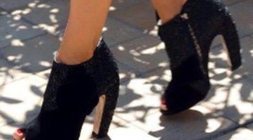 Camille Belle y Elena Anaya se rinden a los block heel, los zapatos de la temporada