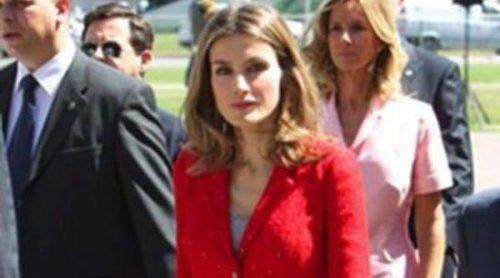 La crisis también afecta al vestuario de la Princesa Letizia
