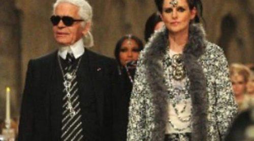 Karl Lagerfeld presenta en París su colección Métiers d'Art Paris-Bombay 2011/12 para Chanel