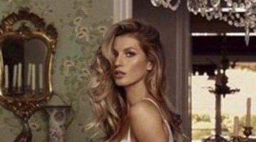 Gisele Bündchen se desnuda para el décimo aniversario de Fidelia