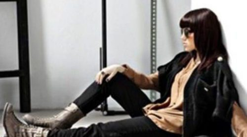 Angy repite como imagen de la marca de calzado Refresh para este invierno 2011
