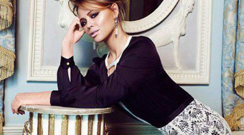 Kimberley Walsh, cantante de Girls Aloud, presume de curvas posando en una campaña de moda