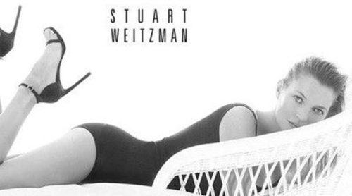Kate Moss repite como imagen de la nueva campaña primavera/verano 2014 de Stuart Weitzman