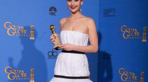 El Dior de Jennifer Lawrence en los Globos de Oro 2014 arrasa en las redes sociales