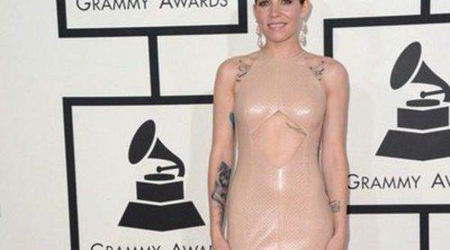 Skylar Grey, Kelly Osbourne y Cyndi Lauper, entre las peor vestidas de la alfombra roja de los Grammy 2014