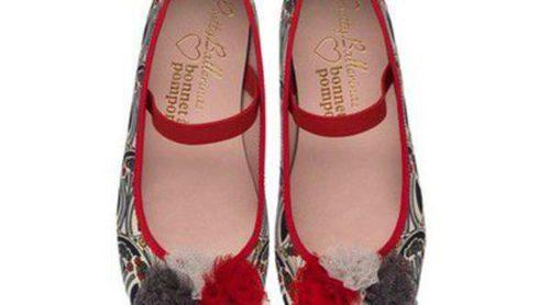 Pretty Ballerinas y Bonnet à Pompon se unen en la creación de una colección de calzado para niñas