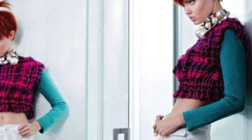 Lindsey Wixson y Sasha Luss protagonizan la campaña primavera/verano 2014 de Chanel
