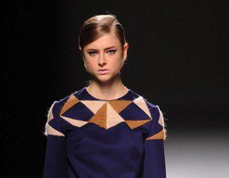 Devota & Lomba apuesta por la geometría en Madrid Fashion Week otoño/invierno 2014/2015