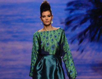 Francis Montesinos llena de exotismo y elegancia la Madrid Fashion Week con su colección otoño/invierno 2014/2015
