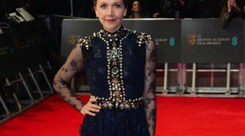 Lily Allen, Maggie Gyllenhaal y Ruth Wilson, entre las peor vestidas de los BAFTA 2014