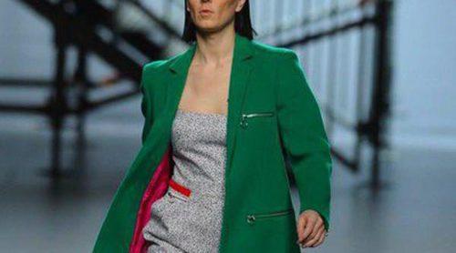 Davidelfín presenta una colección otoño/invierno 2014/2015 llena de color en la Madrid Fashion Week