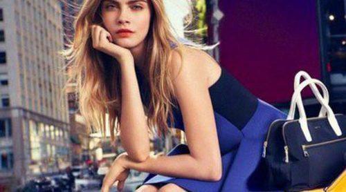 Ve la luz la campaña primavera/verano 2014 de DKNY con Cara Delevingne