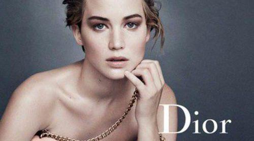 Jennifer Lawrence presenta la nueva campaña del bolso 'Miss Dior' de Dior