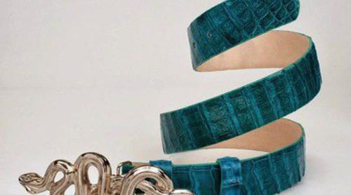 Los cinturones intercambiables, el producto estrella de Marcela Arango