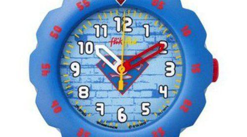 Superhéroes, dibujos y diversión: Flik Flak estrena la primavera con cuatro modelos de relojes