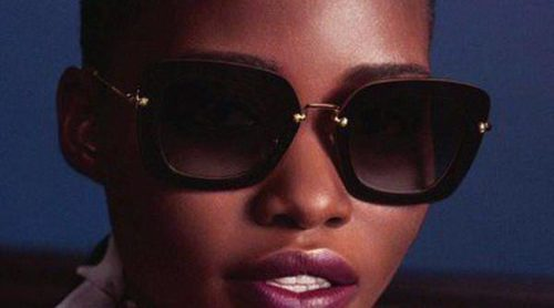Lupita Nyong'o: inigualable protagonista de la nueva campaña de gafas de Miu Miu