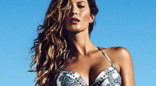 Gisele Bündchen conquista con los bikinis de la colección de verano 2014 de H&M