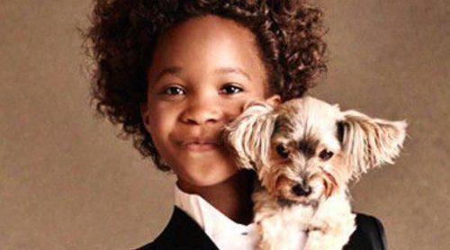 Quvenzhané Wallis, de actriz a modelo de Armani Junior con tan sólo 10 años