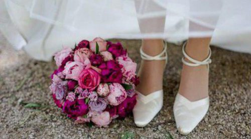 Escoge los zapatos adecuados para tu vestido de novia