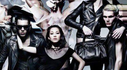 Cuero negro, el tejido estrella en la nueva campaña de Diesel
