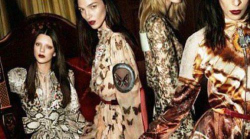 Kendall Jenner posa para la campaña otoño 2014 de Givenchy