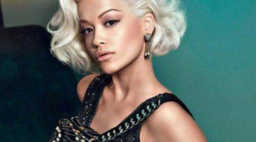 Rita Ora emula a Marilyn Monroe en la nueva campaña otoño/invierno 2014 de Roberto Cavalli