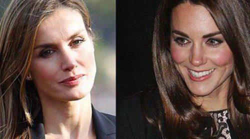 Letizia Ortiz vs. Kate Middleton: comparamos los estilos de Reina y Duquesa