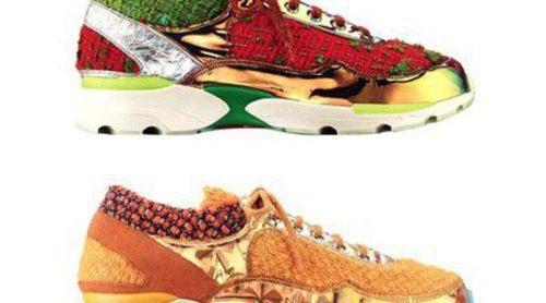 Las sneakers de ensueño diseñadas por Karl Lageferld estarán disponibles en septiembre 2014