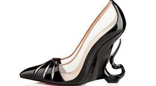 'Maléfica' inspira un tenebroso zapato de tacón de Louboutin y Angelina Jolie