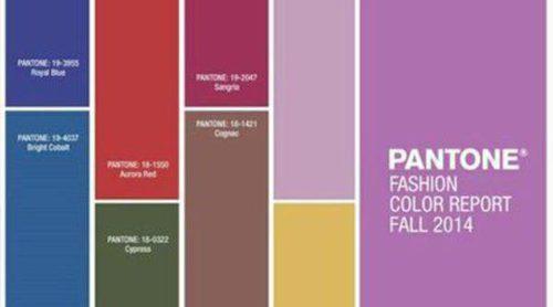 Pantone revela los colores que reinarán en otoño/invierno 2014