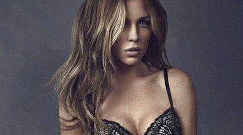 Abbey Clancy, delicada y sensual en la nueva campaña de Último
