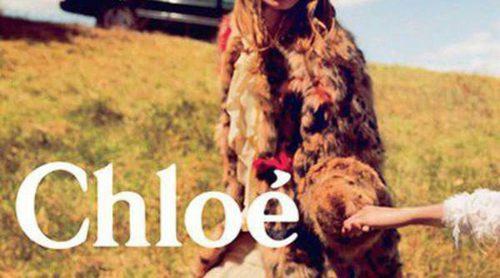 Chloé se rodea de un idílico campo para su nueva campaña otoño/invierno 2014