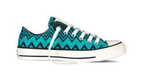 El zigzag hecho tendencia: Missoni y Converse crean otra colección de zapatillas